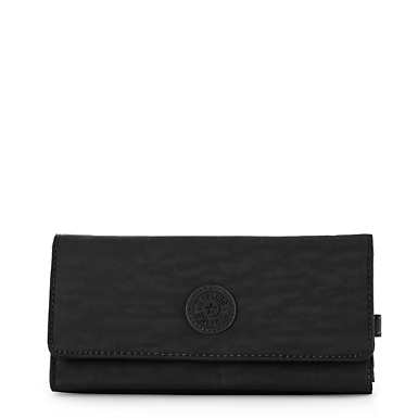New Teddi Snap Wallet  - Black