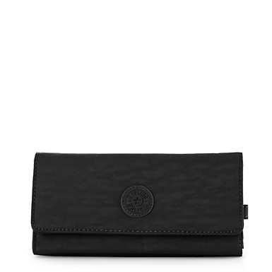 New Teddi Snap Wallet  - Black