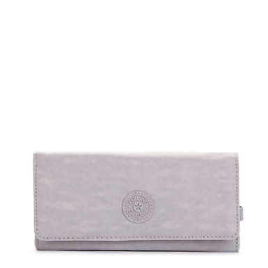 New Teddi Snap Wallet  - Slate Grey