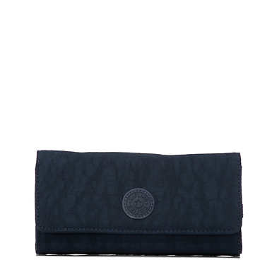 New Teddi Snap Wallet  - True Blue