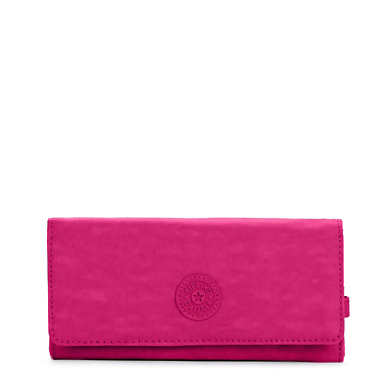 New Teddi Snap Wallet  - Very Berry