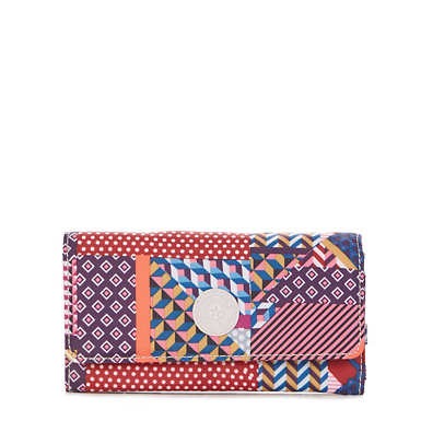 New Teddi Printed Snap Wallet - Printed Dream