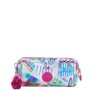 Wolfe Roll-Up Pencil-Makeup Pouch - Rio Vine