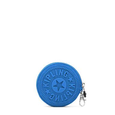 Marguerite Zip Pouch - Kipling Squared Twlight Blue