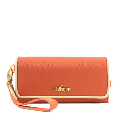 Hoppy Wristlet - Citrus Orange