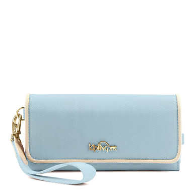 Hoppy Wristlet - Shell Blue