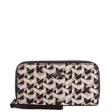 Vanessa Wallet - Optic Beige Multi