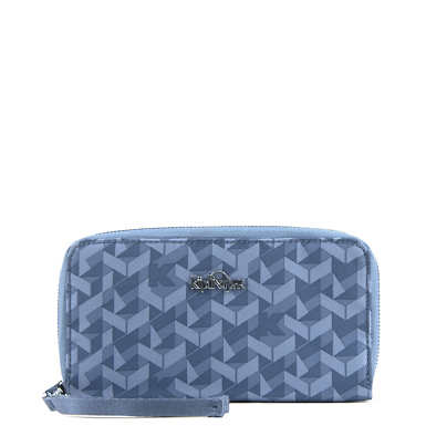 Vanessa Wallet - Optic Blue