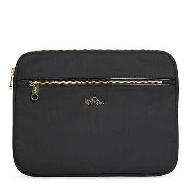 "Junya 2 15"" Laptop Sleeve - Black Crosshatch"