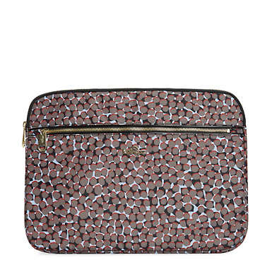 "Nova 2 13"" Printed Laptop Sleeve - Graphic Animal Brown"