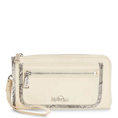 Axton Wristlet - Simple Beige