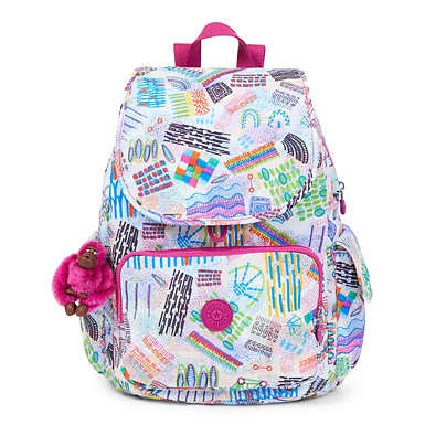 Ravier Medium Printed Backpack - Rio Vine