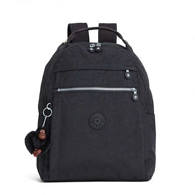 Micah Medium Laptop Backpack - Black