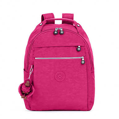Micah Medium Laptop Backpack - Very Berry
