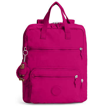 Sharpay Medium Laptop Backpack - Spring Red