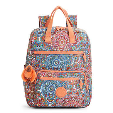 Sharpay Medium Printed Laptop Backpack - Sunshine Happy