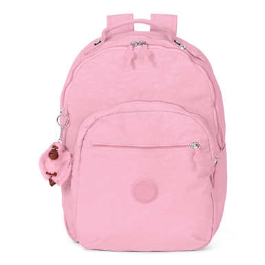 Seoul Large Laptop Backpack - Scallop Pink
