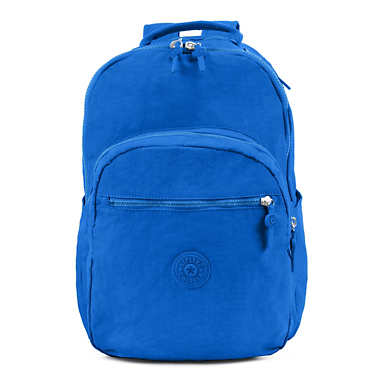 Seoul Large Laptop Backpack - Cold Blue