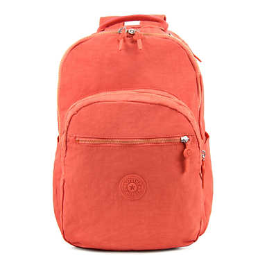Seoul Large Laptop Backpack - Cool Orange