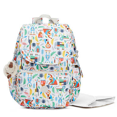 Baby Printed Backpack Diaper Bag - Bundle Of Love