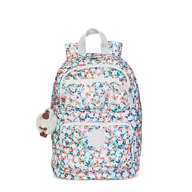 Dawson Small Printed Backpack - Meadow Flower Pink