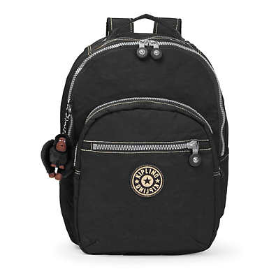 Seoul Large Vintage Laptop Backpack - Black
