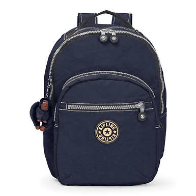 Seoul Large Vintage Laptop Backpack - True Blue