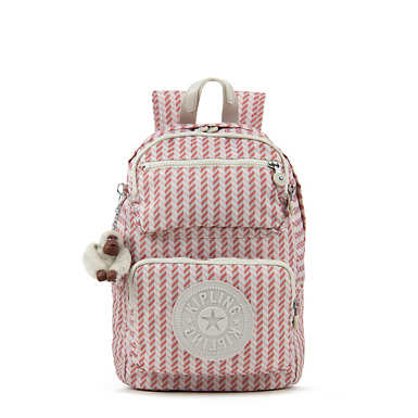 Dawson Small Printed Backpack - Zest Pink