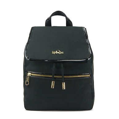 Claudette Small Backpack - Black Crosshatch