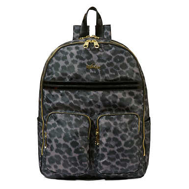Tina Large Printed Laptop Backpack - Graph Print
