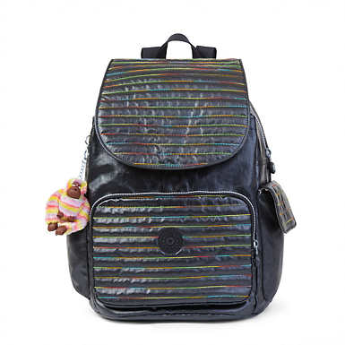 Ravier Medium Backpack - Lacquer Black