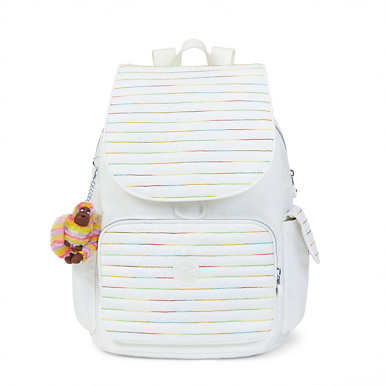 Ravier Medium Backpack - Lacquer Pearl