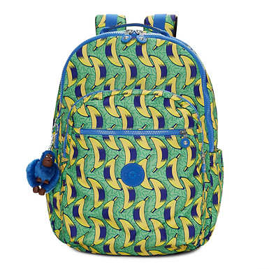Seoul Extra Large Printed Laptop Backpack - Early Dawn
