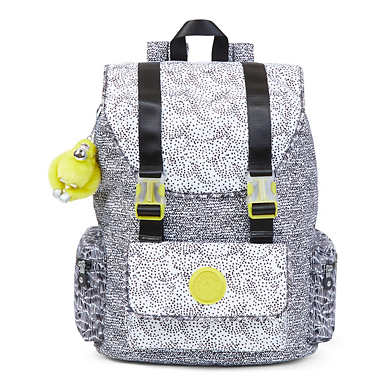 Siggy Large Printed Laptop Backpack - Geo Print Mix