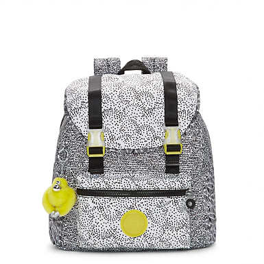 Siggy Small Printed Backpack - Geo Print Mix
