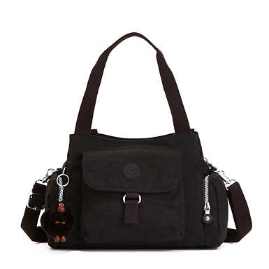 Felix Large Handbag - Black