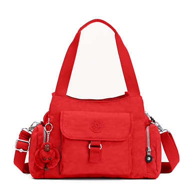 Felix Large Handbag - Cherry