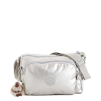 Reth Crossbody Bag - Platinum Metallic