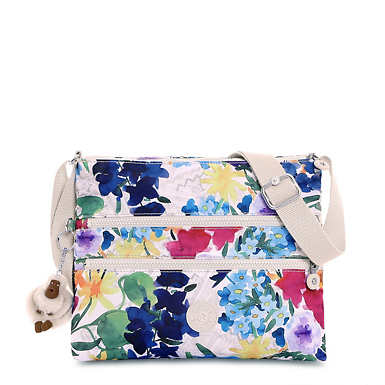 Alvar Printed Crossbody Bag - Flower Power