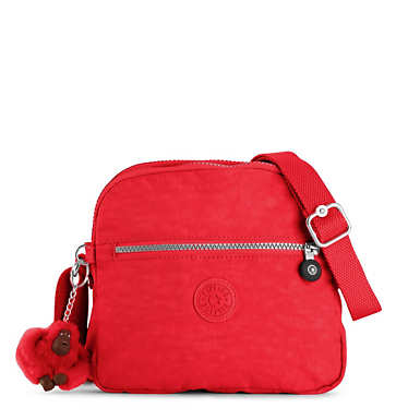 Keefe Crossbody Bag - Cherry
