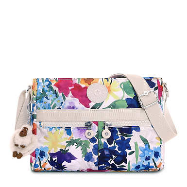 Angie Printed Handbag - Flower Power