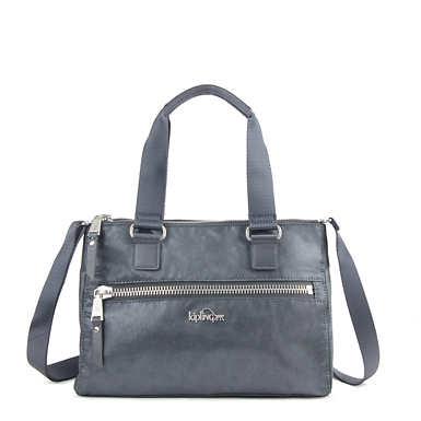 New Tarah Handbag - Grey Metallic