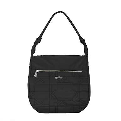 Ally Quilted Handbag - Black Plaid Combo