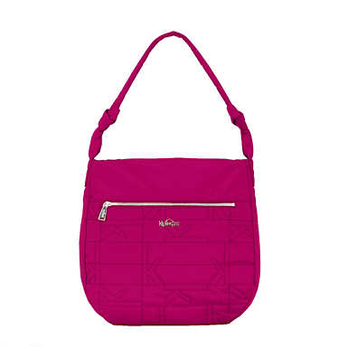 Ally Quilted Handbag - Spring Red