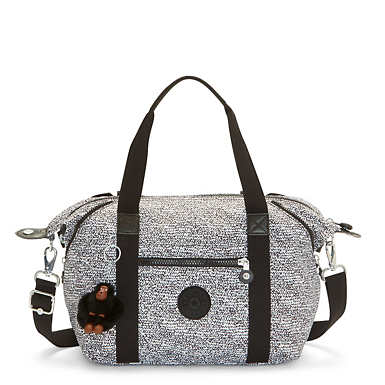 Art S Printed Handbag - Lacy Lines