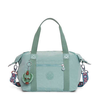 Art S Handbag - Leaf Green Combo