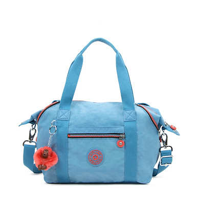 Art S Handbag - Blue Grey