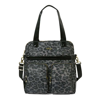 Camryn Printed Laptop Handbag - Printed Punch