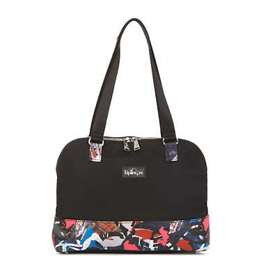 Watts Handbag - Black/Chirpy Adventure Combo