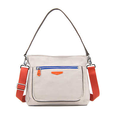 Kaeon Rebellion Crossbody Bag - Beige